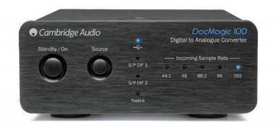 Cambridge DAC Magic 100 - Noir - Avant